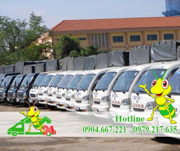 Dịch Vụ Cho Thuê Xe Taxi Tải Chuyển Nhà Kiến Vàng 24h