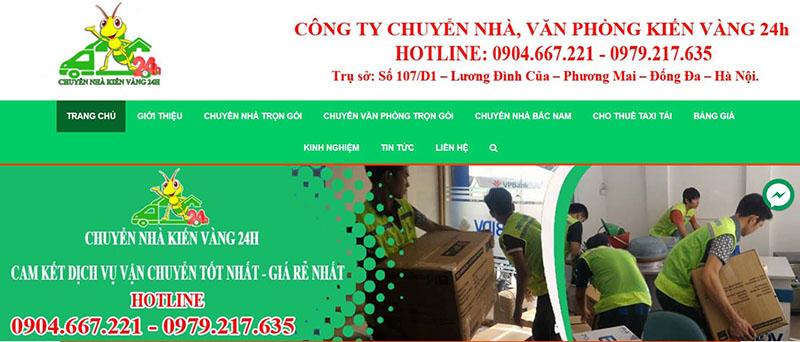 Những Công Ty Chuyển Nhà Chuyên Nghiệp Tại Hà Nội