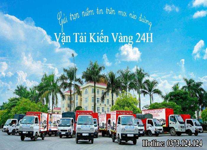 dịch vụ cho thuê xe taxi tải 24h kiến vàng